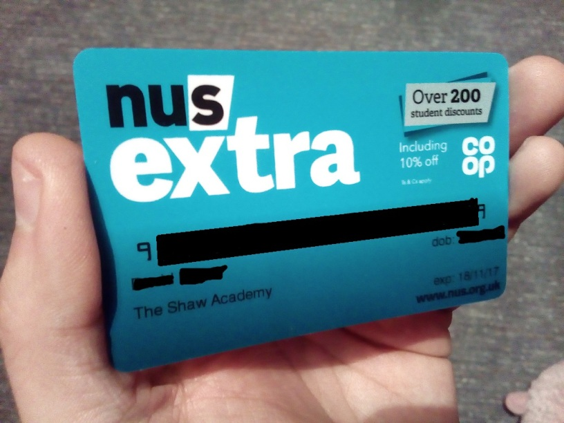 NUS Discount Card