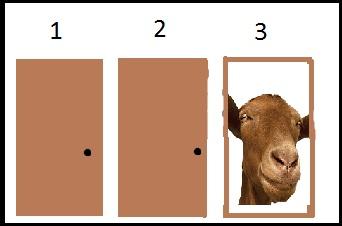 Monty hall door puzzle